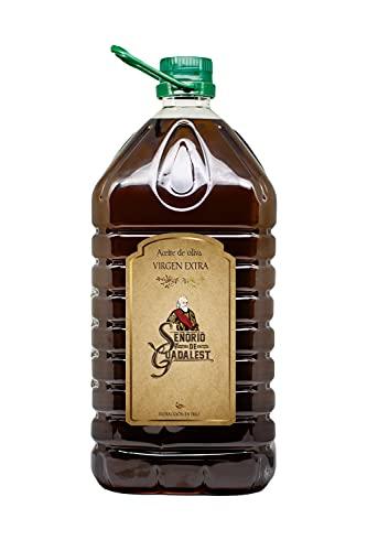 Aceite de Oliva Virgen Extra 5 Litros, Aceite de Oliva para Ensalada Cocinar, Garrafa 5 L Aceite de Oliva Virgen Extra Prensado en Frío SEÑORÍO DE GUADALEST (1)