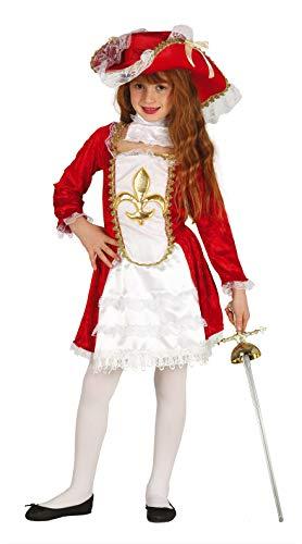 Fiestas Guirca Kostüm Musketier mädchen grÖsse 10-12 Jahre