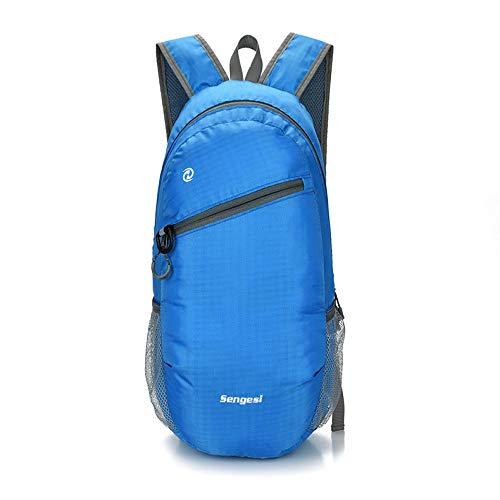 Hanggg Zaino da esterno per uomo e donna borsa impermeabile da viaggio zaino sportivo da viaggio zaino pieghevole da alpinismo zaino ultraleggero