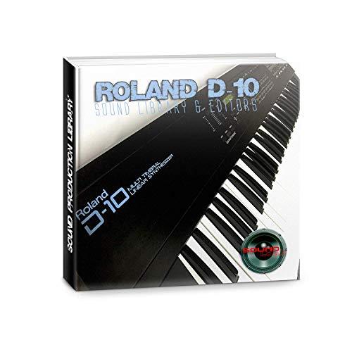 para ROLAND D-10 enorme fábrica original y nueva biblioteca de sonido creada y editores en CD