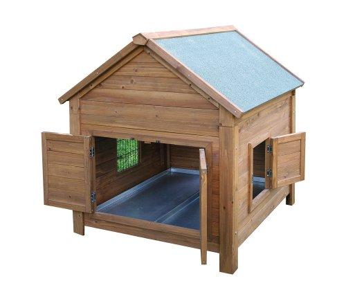 Kerbl Kleintierstall für Hühner oder Kaninchen, 105 x 100 x 108 cm
