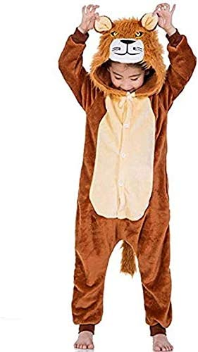 Niños Niñas Pijama Enterizo Animal Cosplay Disfraces Onesies ...
