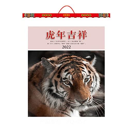 Hsjx 2022 Wall Calendar,2022 Academic Year Desk/Wall Monthly Calendar Pad (Jan2022-Dec 2022)-Large 44X59cm Hanging or Desktop Blotter(Color:C)