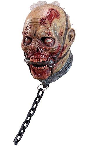 GHOULISH Máscara Esclavo Zombie