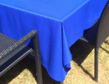 Nappe carrée (bleu, 140 x 140)