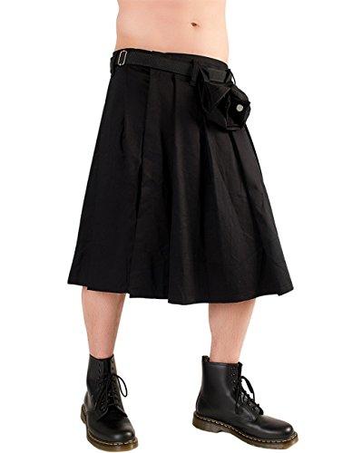Black Pistol Schotse Kilt - Schotse rok Short Kilt Denim