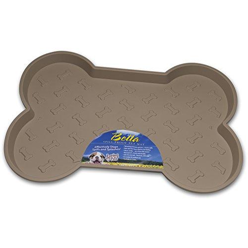 Loving Pets Bella Spill-proof Tapis pour Chien Brun Taille L