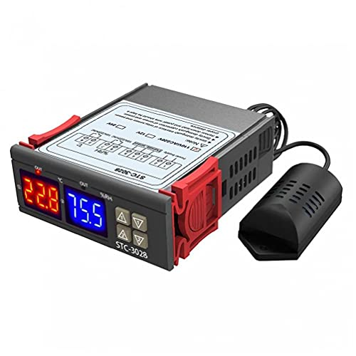 LCD Show Smart Frequenza Digital Display Temperatura e controller di umidità (110-220V) Industria automobilistica