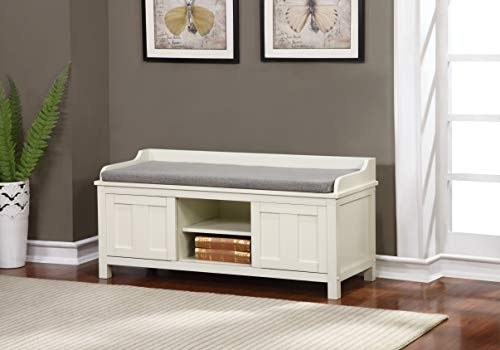 Linon Lakeville Storage Bench