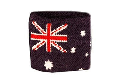 Flaggenfritze® Schweissband Flagge Australien