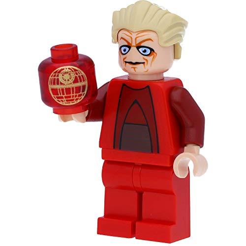 LEGO Star Wars - Minifigura del Canciller Palpatine con holograma (The Clone Wars)