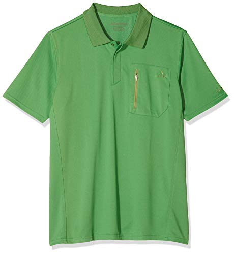 Schöffel Herren Polo Shirt Arizona2 Poloshirt, Mint Green, 54