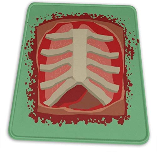 Surgeon Simulator Ribcage Design Official Merchandise Hemming The Mouse Pad 10 X 12 Inch Esports