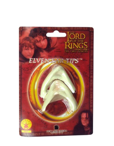 Lord of the Rings Costume Accessory, Mens Elf Ear Tips