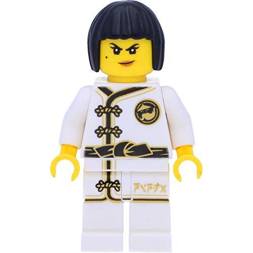 LEGO Ninjago Minifigur: NYA im weißen Kimono (White Wu-Cru Training Gi) und Schwertern