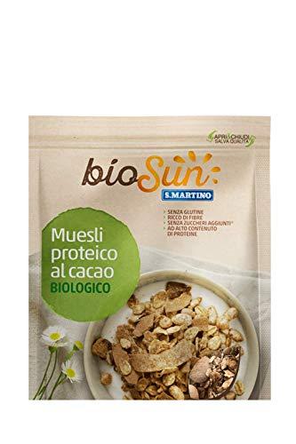 S.Martino Biosun, Muesli Proteico al Cacao Biologico - 200 gr