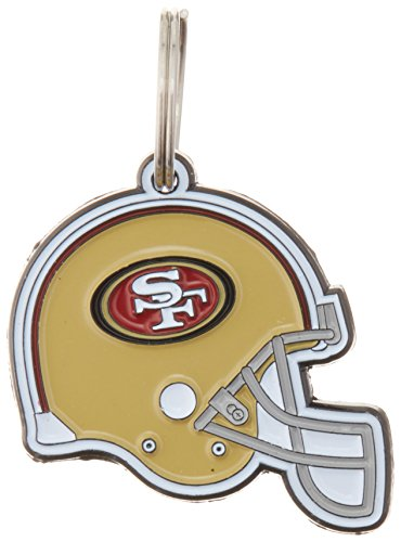 NFL Dog TAG - SAN Francisco 49ERS Smart Pet Tracking Tag. - Best Retrieval System for Dogs, Cats or Army Tag. Any Object You'd Like to Protect