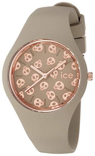 Ice-Watch - ICE skull Lichen - Women's wristwatch with silicon strap - 001268 (Small)