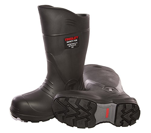 TINGLEY 27251.11 27251 SZ11 Footwear: Boots-Rubber Safety Toe, 11, Black