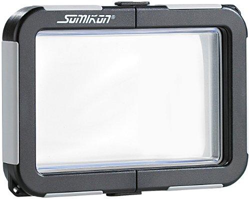 Somikon Fotokamera Tauchgehäuse: Kamera-Tauchgehäuse ohne Objektivführung (max. 99x64x20mm) (Unterwassergehäusen für Kameras)