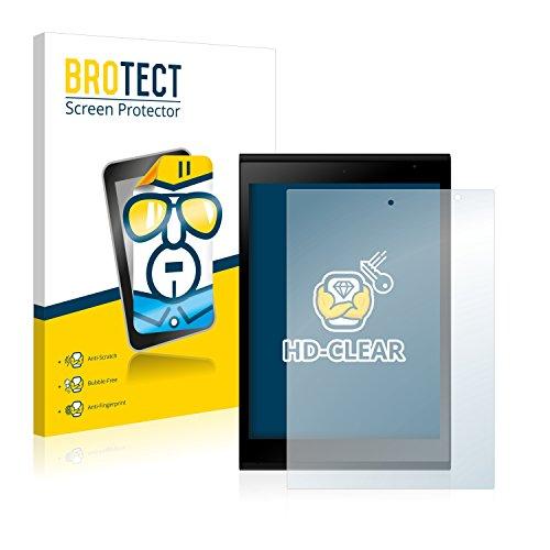 BROTECT Schutzfolie kompatibel mit Jolla Tablet (2 Stück) klare Bildschirmschutz-Folie