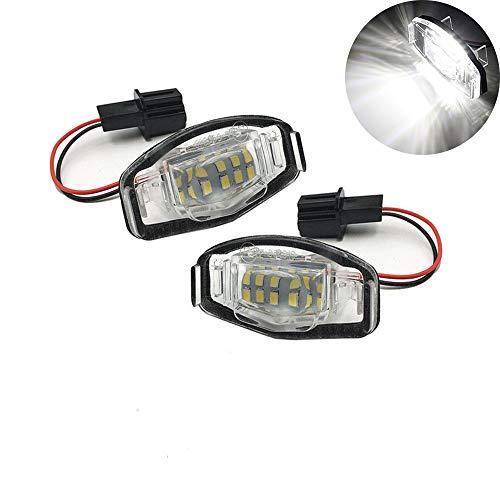 Yijueled - Iluminación LED para matrícula Accord Civic Odyssey MR-V