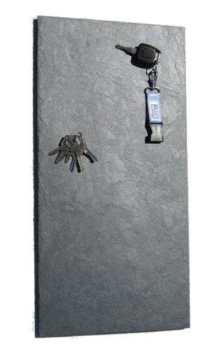 FLUX-objects Großes Schlüsselbrett, magnetisch, aus Schiefer in 30 cm x 60 cm