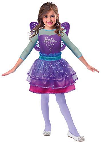 Amscan 9903284 Kinderkostüm Barbie Regenbogen Fee, 5-7 Jahre