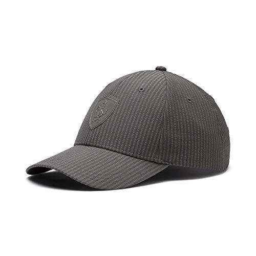 Scuderia Ferrari Lifestyle Baseball Cap - Charcoal Gray, One Size