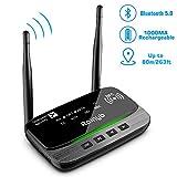 [UPGRADE] Bluetooth 5.0 Transmitter Receiver 265FT Long Range 3 in 1 Bluetooth Audio