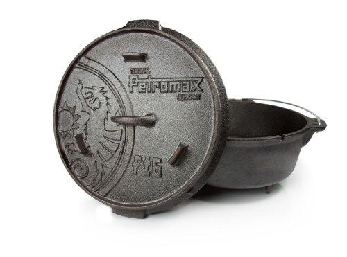 Petromax 2122305 Marmite Mixte Adulte, Noir, 7,6 L