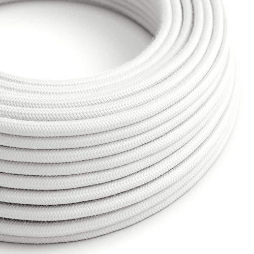 Choisissez la Couleur de la fiche et de linterrupteur! c/âble RM09 Effet Soie Rouge 1,80 m creative cables Cordon pour Lampe Noir