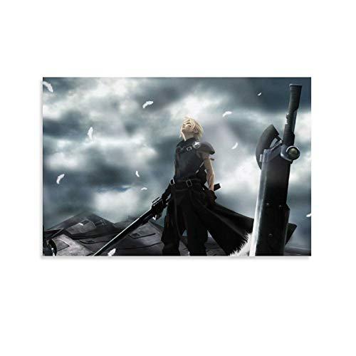 LKJIU Final Fantasy Xv Switch HD4 - Poster artistico da parete con stampa artistica da parete moderna, 20 x 30 cm