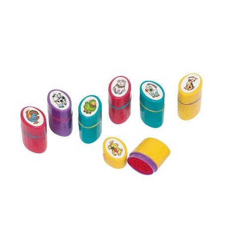 GoKi 15396 Tampons auto-encreurs en plastique Motif animaux