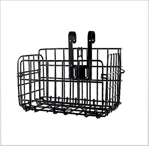 ZXL Fahrradkorb Rust-Proof Quick Release Vorne Lenker Fahrrad Lift Off Körbe, Für Mountainbike-Zubehör Rahmen Basket Fahrrad-Beutel-Dachgepäckträger, Einfache Installation Auf Der Front-Lenker