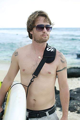 SUP-Now Paddle Board Carrier/Storage Sling 7 ADJUSTS MORE THAN OTHER STRAPS: Works great for paddleboarders of all heights and fits all paddleboards. Whether you are 6'5 with a large paddleboard or you are 4'3 with a small surfboard, our strap will work for you! TRIPLE PADDED SHOULDER PAD: Our shoulder pad is made from soft and durable NEOPRENE for maximum comfort. The idea of these straps is to carry the weight of your board on your shoulder. We put a lot of time and effort making our shoulder pad FAR SUPERIOR to others on the market. REMOVABLE DRAWSTRING BAG: Carry your water bottle, sunscreen or other personal items.