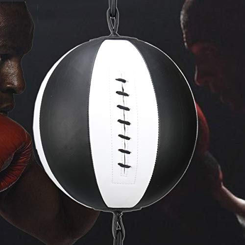 Mumian PU Leather Boxing Ball, Speed Dodge Ball Double End Gym MMA Boxing Sports Punch Bag Floor ...