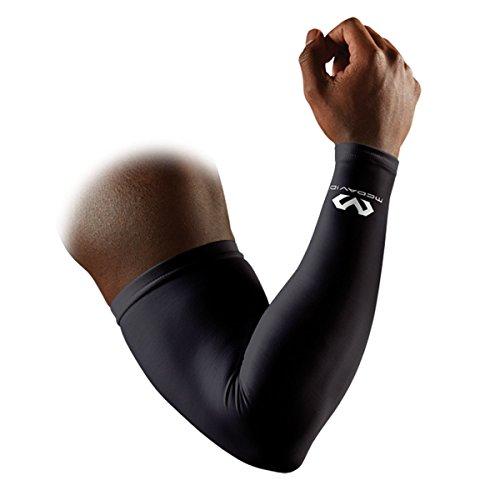 McDavid Erwachsene Kompressions-Armstulpe, Schwarz, S/M