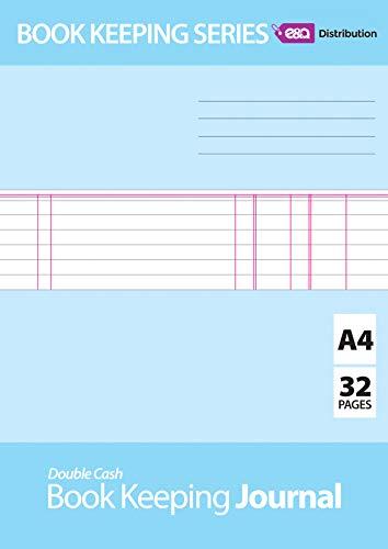 Buchhaltung, Buchhaltung, Buchhaltung, Buchhaltung, Buchhaltung, Buchhaltung, Transaktionen, Finanzen mit Lineatur von E & A Distribution, limitiert A4 Journal