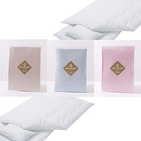 ミクロガードプレミアム掛け布団カバー(シングルサイズ)高密度生地でダニを通さずホコリも通さない、国産、テイジン、帝人 (ベージュ)