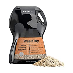Rufus & Coco WeeKitty Natural Flushable Clumping Cat Litter