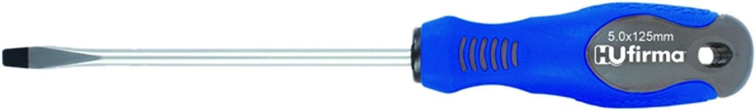 hufirma 3895020 skruvmejsel spår kromvanadin 5 x 100 mm, ljusblå
