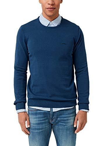 s.Oliver Herren 03.899.61.5232 Pullover, Blau (Freedom Blue 5626), (Herstellergröße: XX-Large)