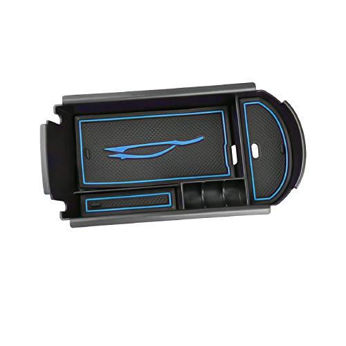 LFOTPP Vano Portaoggetti Bracciolo per C-HR, CHR Secondario Organizer Braccioli, Scatola di Immagazzinaggio Auto Accessori (Blu)