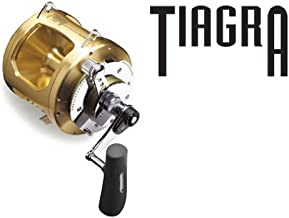 Shimano Tiagra 20 A 2 Speed Offshore Multiplier Saltwater Trolling Fishing Reel, TI20A