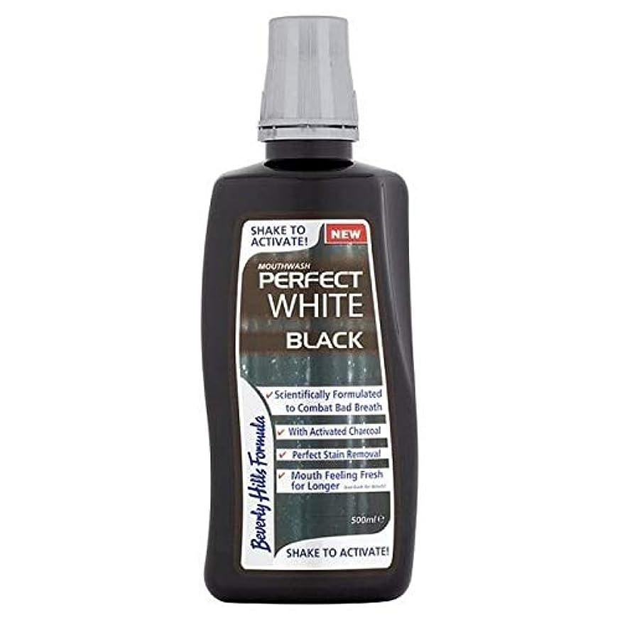 些細なフラッシュのように素早く羽[Beverly Hills ] ビバリーヒルズ式完璧な白黒マウスウォッシュ500ミリリットル - Beverly Hills Formula Perfect White Black Mouthwash 500ml [並行輸入品]