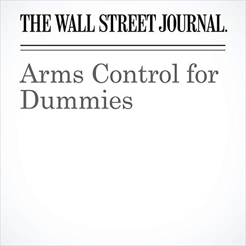 Arms Control for Dummies copertina