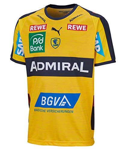 PUMA Kinder Handballtrikot RNL Home Shirt Jr. Kurzarm gelb (31) 128
