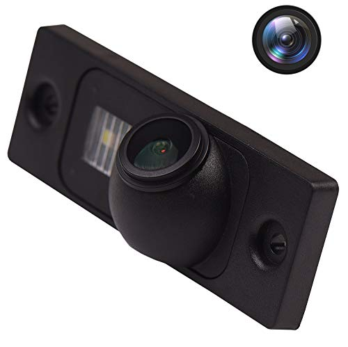 HD Rückfahrkamera (1280 x 720p) Nummernschildkamera Nachtsicht kamera IP69K Wasserdicht für Mercedes W220 W164 W163 X164 ML320 ML350 ML400 ML500 GL450 GL500 S280 S320 S350 S500