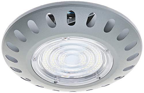 Jandei - Campana LED UFO circular luz blanca 6000K de 50W apta para interior y exterior para naves, garajes, almacenes con chips de alta potencia SMD3535 PF0,9